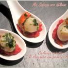 Cuillere aperitive noix de St Jacques