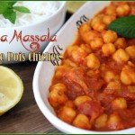 Curry de pois chiches channa massala