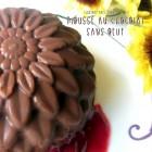 Mousse au chocolat creme de marron sans oeuf