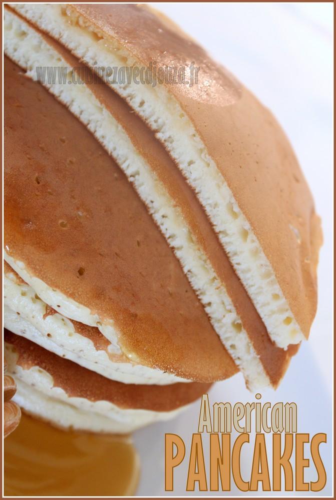 Pancake crêpe americaine epaisse