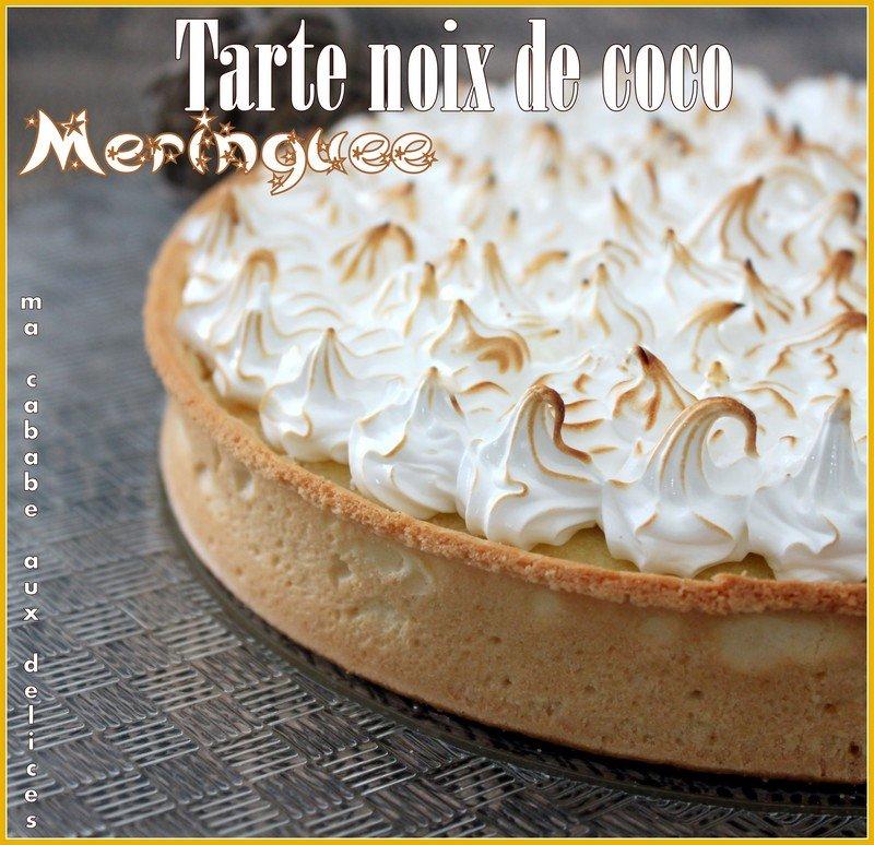 Tarte-noix-de coco-meringuee