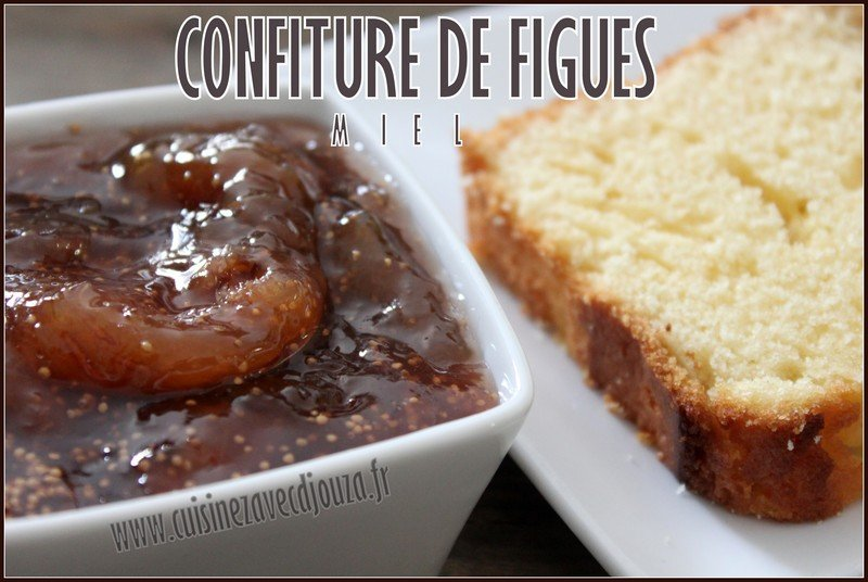Confiture de figues miel photo 1