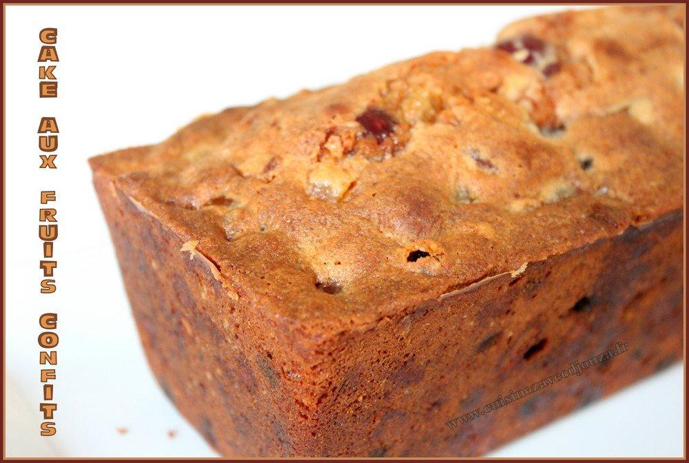 cake de noel aux fruits confits recettes faciles recettes rapides de djouza. Black Bedroom Furniture Sets. Home Design Ideas
