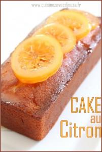 Cake au citron facile