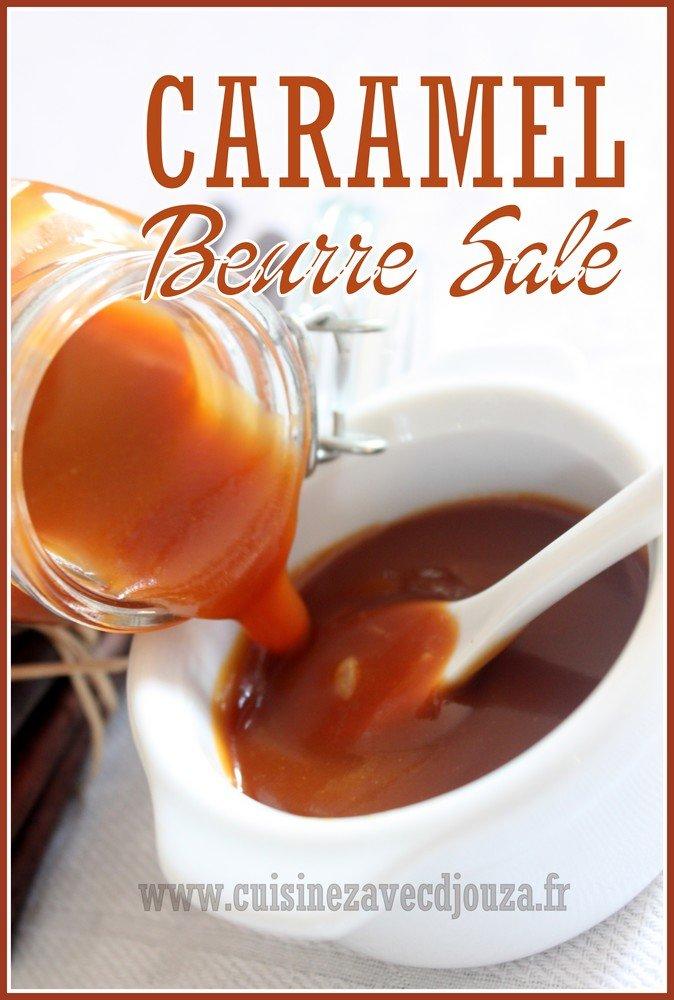 Caramel beurre sal facile et inratable recettes - Recette caramel beurre sale breton ...