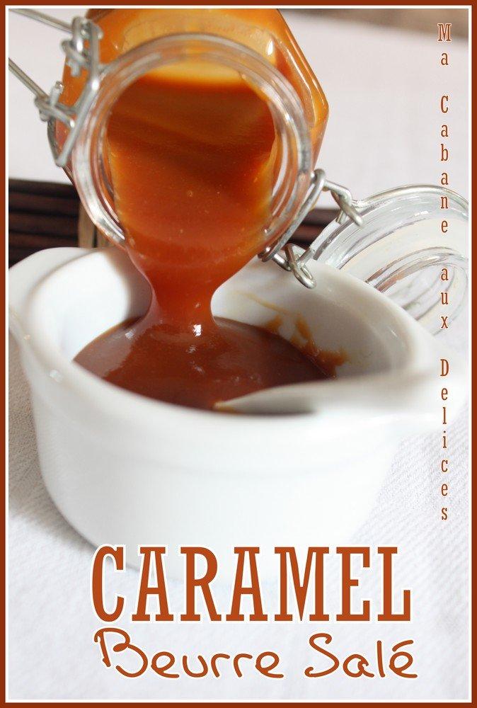 Caramel au beurre sal recette salidou recettes - Recette caramel beurre sale breton ...