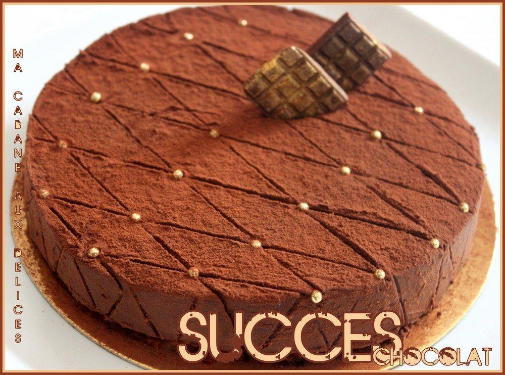 succes ganache chocolat