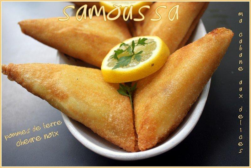 Samoussa-pommes-de-terre-chevre-noix