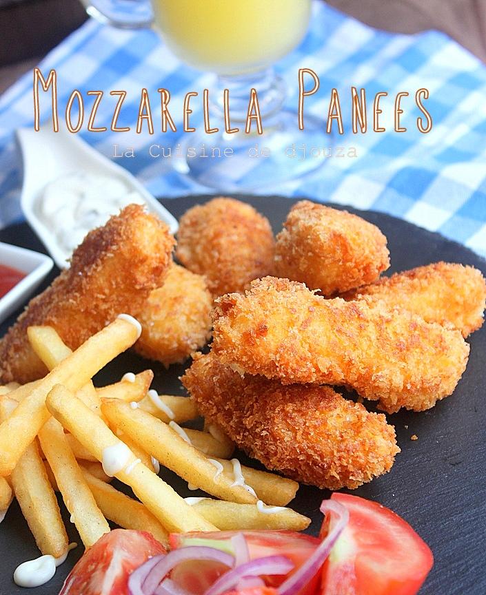 Mozzarella panées