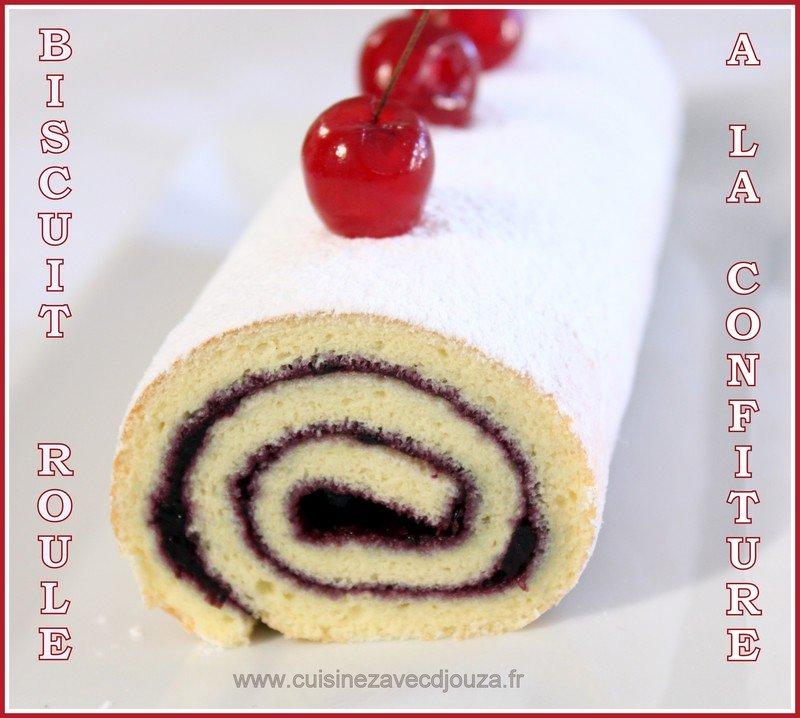 Biscuit roule recette de base