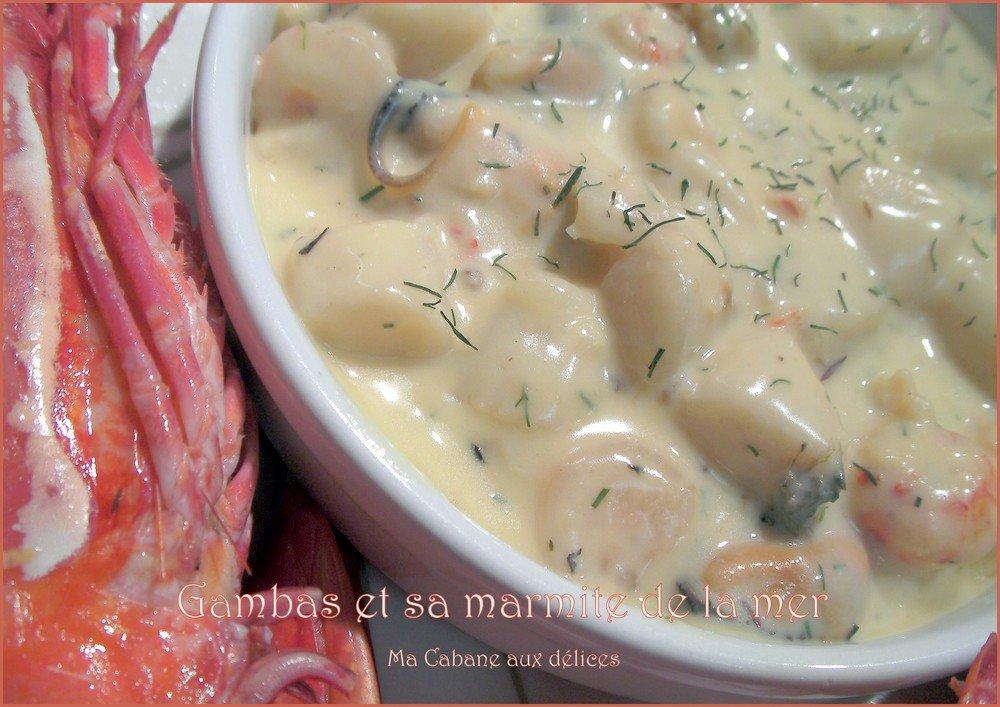 Gambas et marmite de la mer photo 2