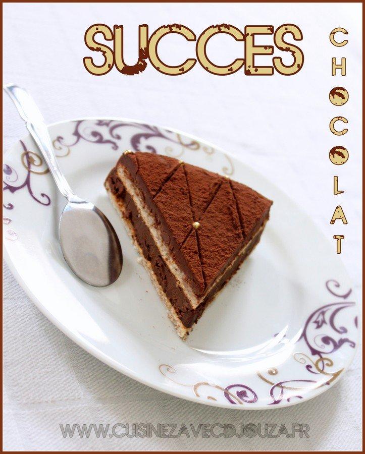 Gateau succes chocolat
