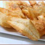 Msemen feuillete frit
