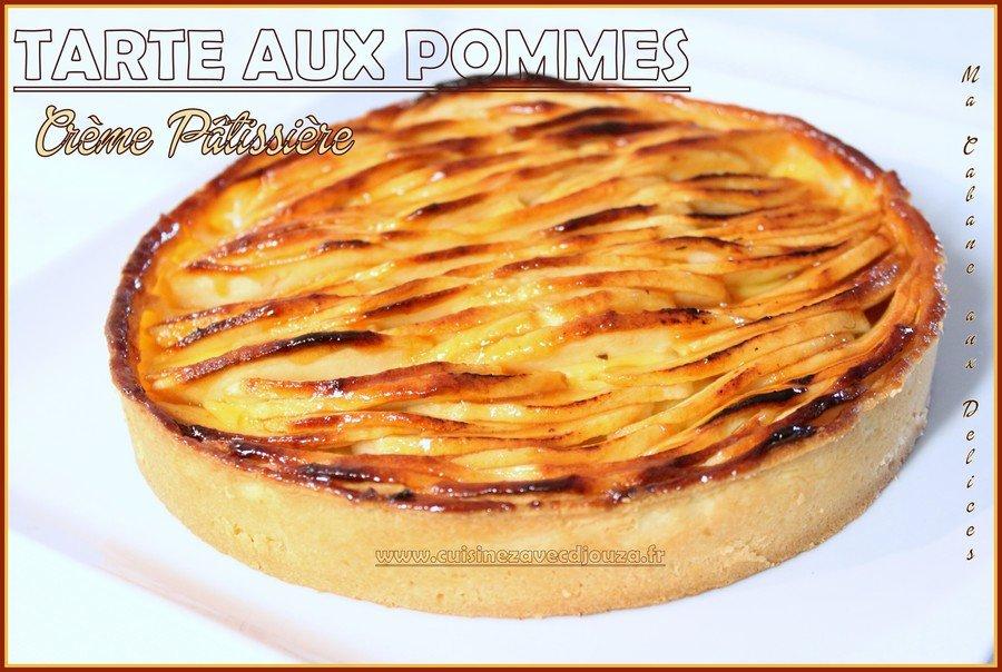 tarte aux pommes creme patissiere cardamome blogs de cuisine