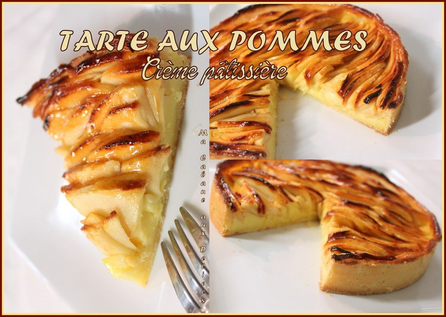 Tarte aux pommes avec pate brisee facile