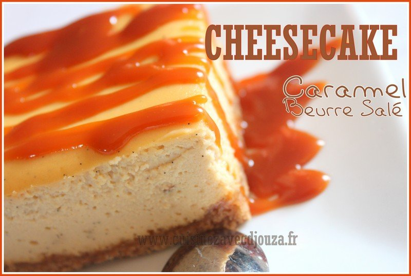 Cheesecake caramel beurre sale