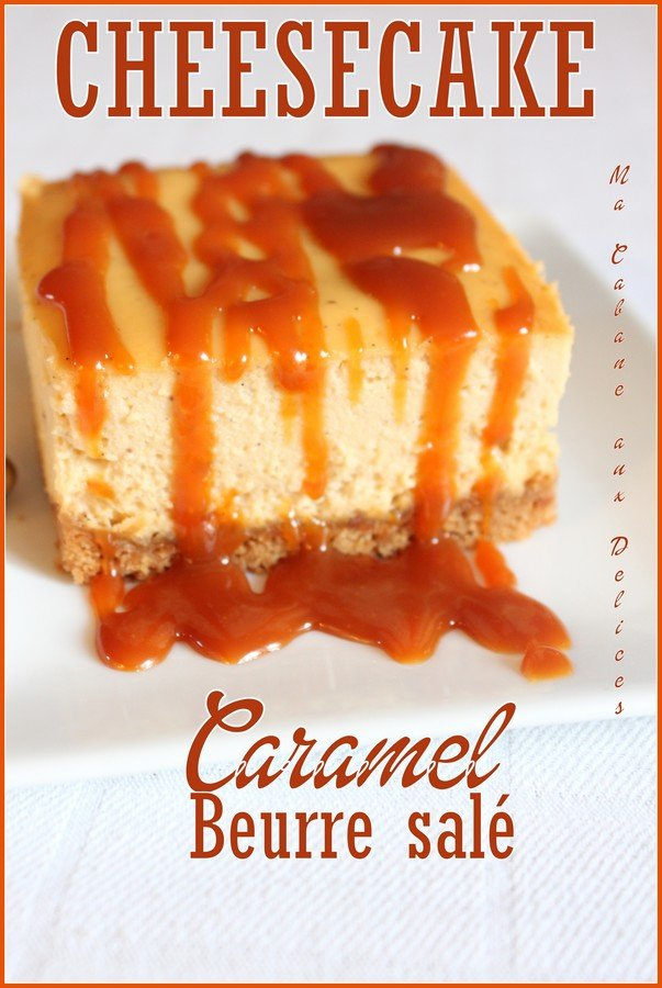 Cheesecake caramel beurre sale