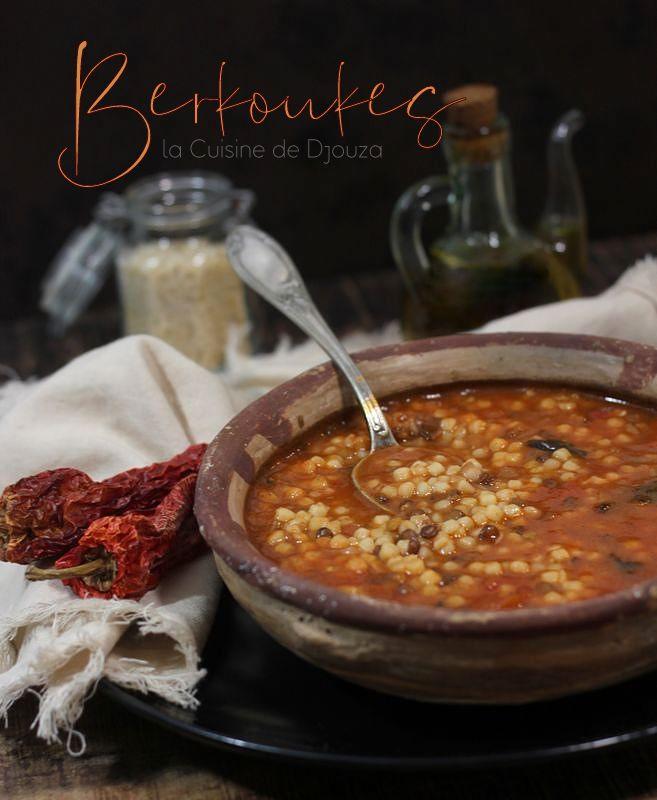 Soupe algérienne verkoukes