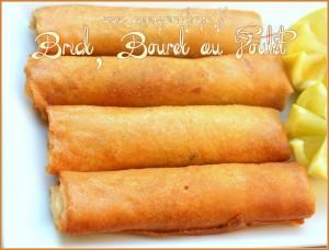 Brick ou bourek au poulet