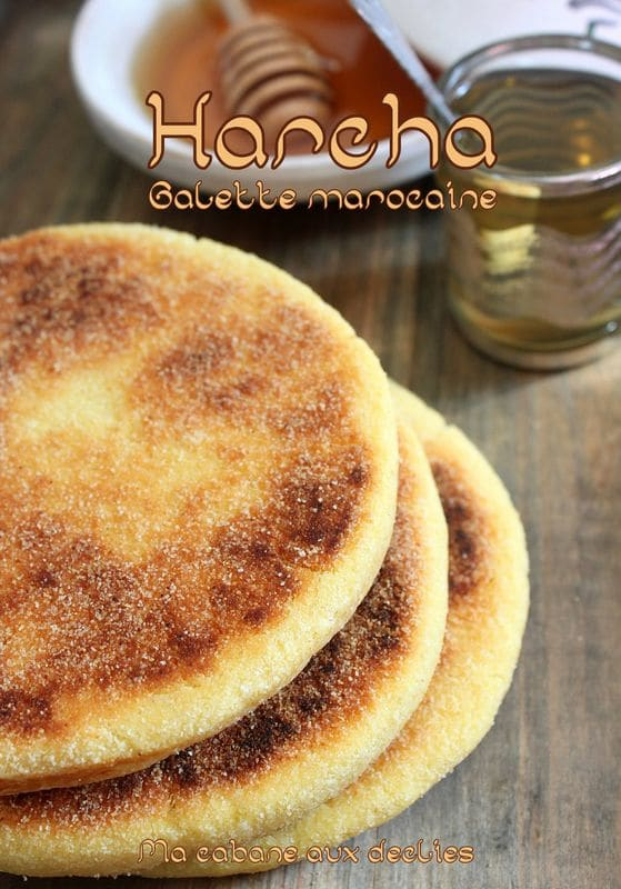 Recette harcha à l'huile du maroc