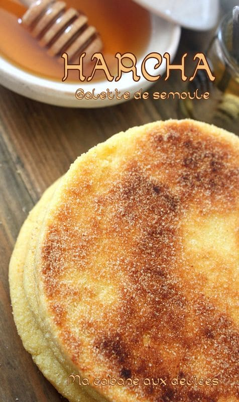 Harcha galette marocaine