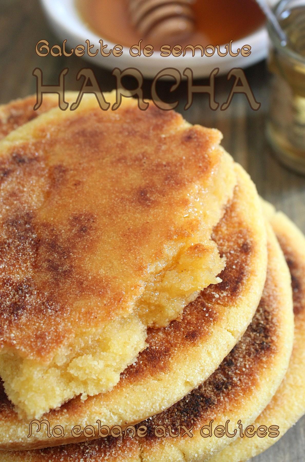 Harcha galette de semoule marocaine | La cuisine de Djouza