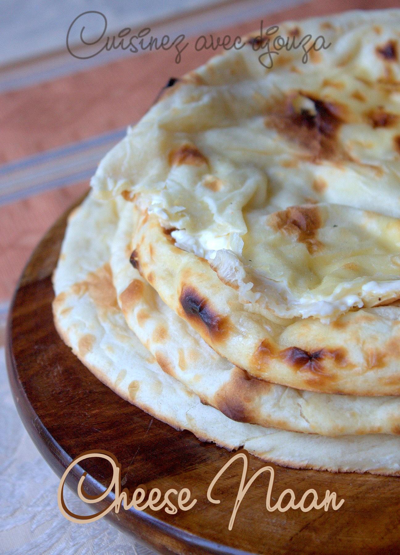 Recette indienne des naans au fromage