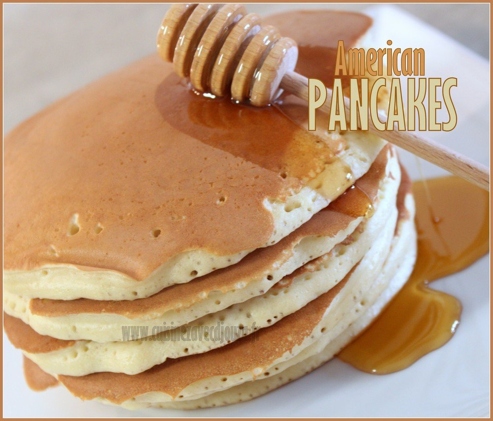 Pancake americaine epaisse