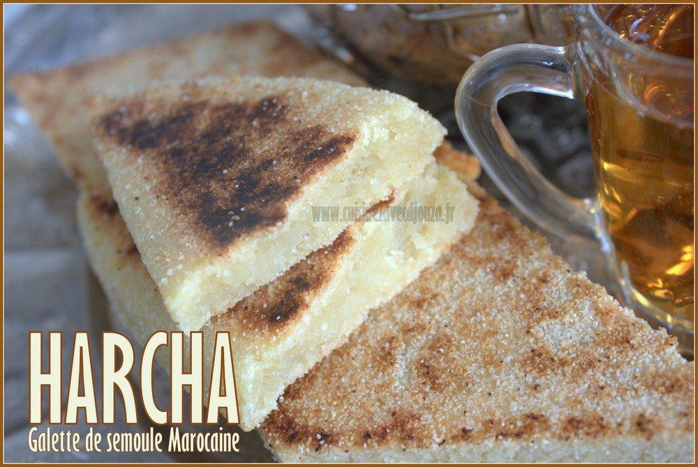 harcha, galette de semoule marocaine photo 4