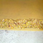 Gateau oriental mhancha amandes pistaches, gateau ramadan