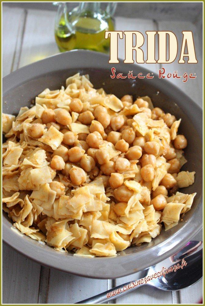 Trida plat traditionnel algerien
