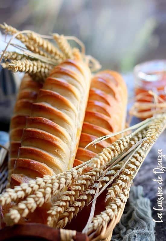 Recette du pain viennois brioché
