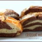 Croquet recette marbre chocolat