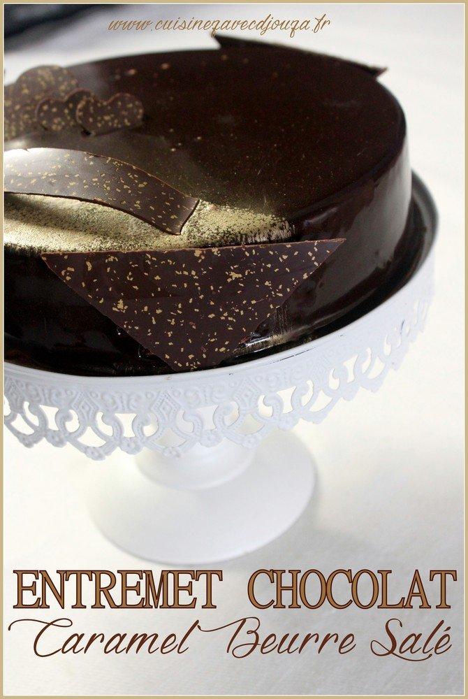 Entremet chocolat caramel beurre sale