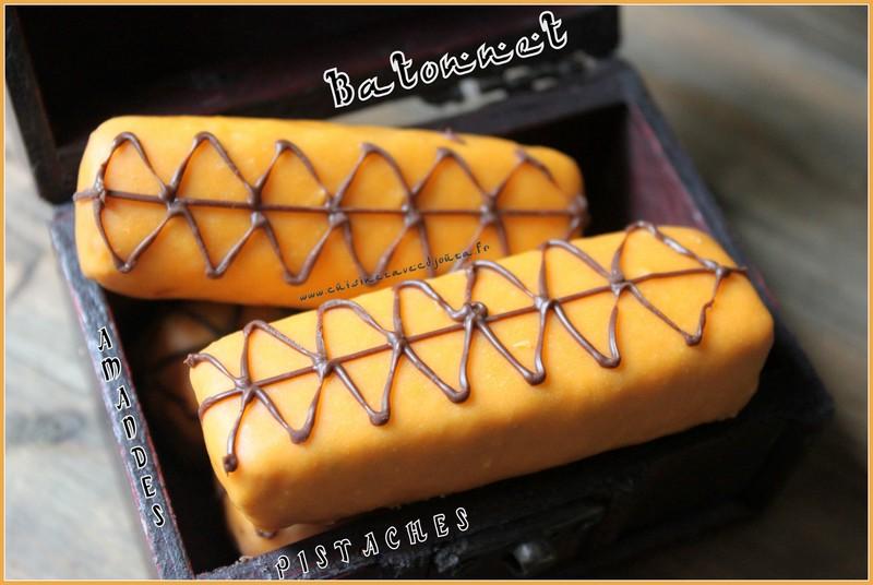 Gateau algérien amande pistache chocolat
