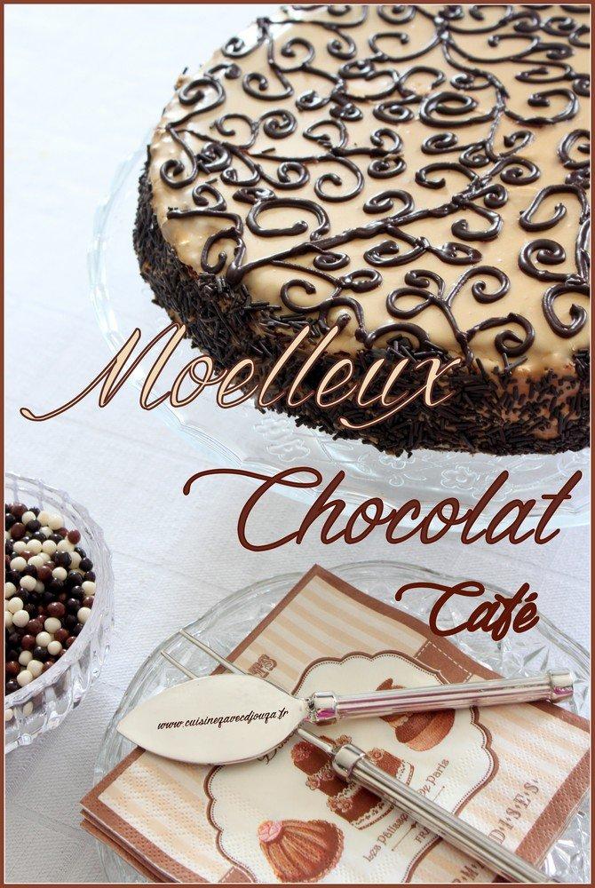 Moelleux chocolat café