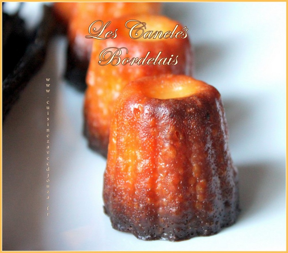Cannelés bordelais inratables