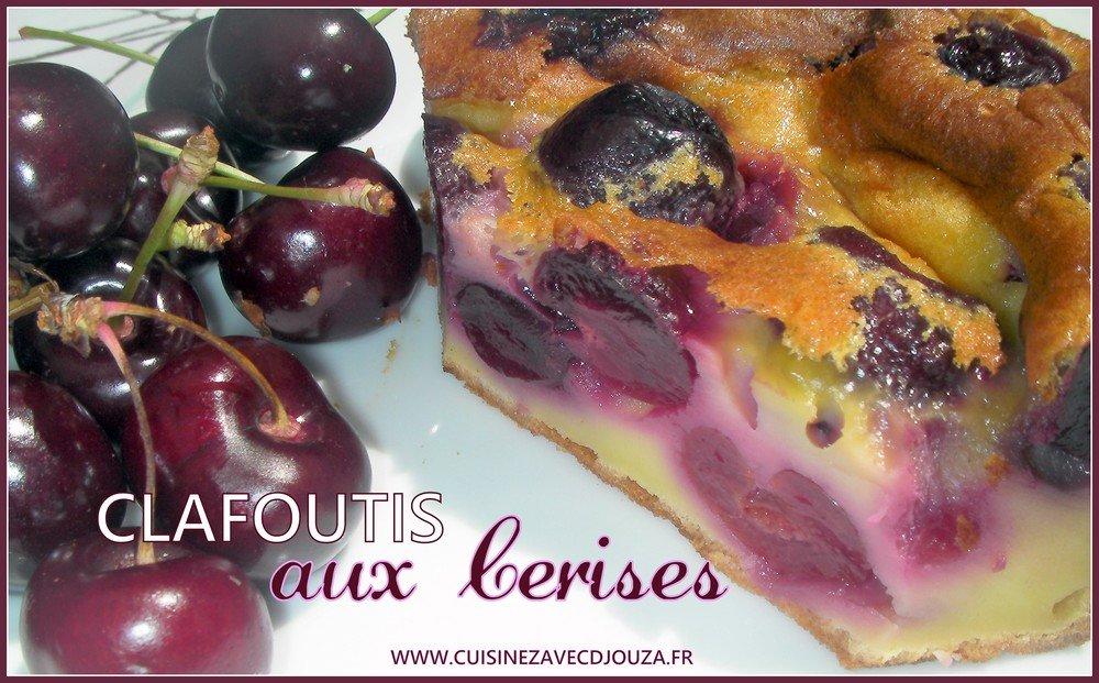 Clafoutis aux cerises bigareaux