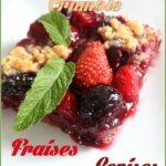 Crumble Cerises Fraises