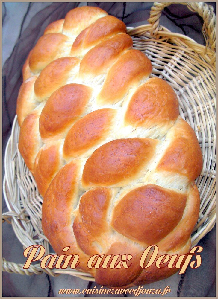 brioche au oeuf juive