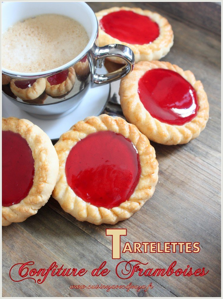 tartelettes confiture de framboises recettes faciles. Black Bedroom Furniture Sets. Home Design Ideas