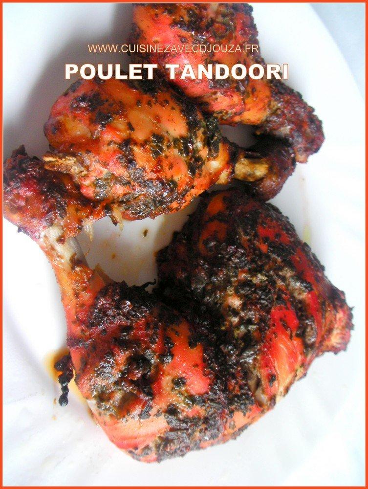 Poulet tandoori recette indienne