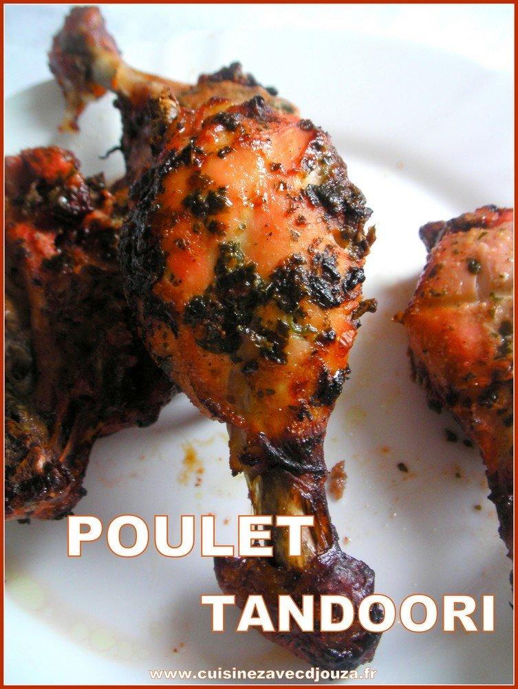Poulet tandoori (cuisine indienne)