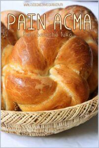 Acma Tarifi pain turc brioché