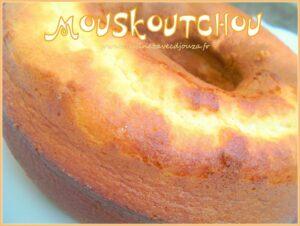 Mouskoutchou, gateau algerien