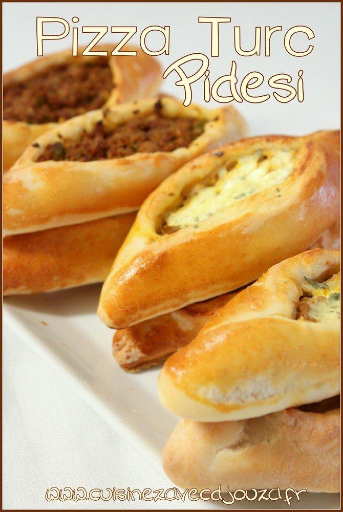Kiymali pide Pizza turque à la viande hachée et fromage