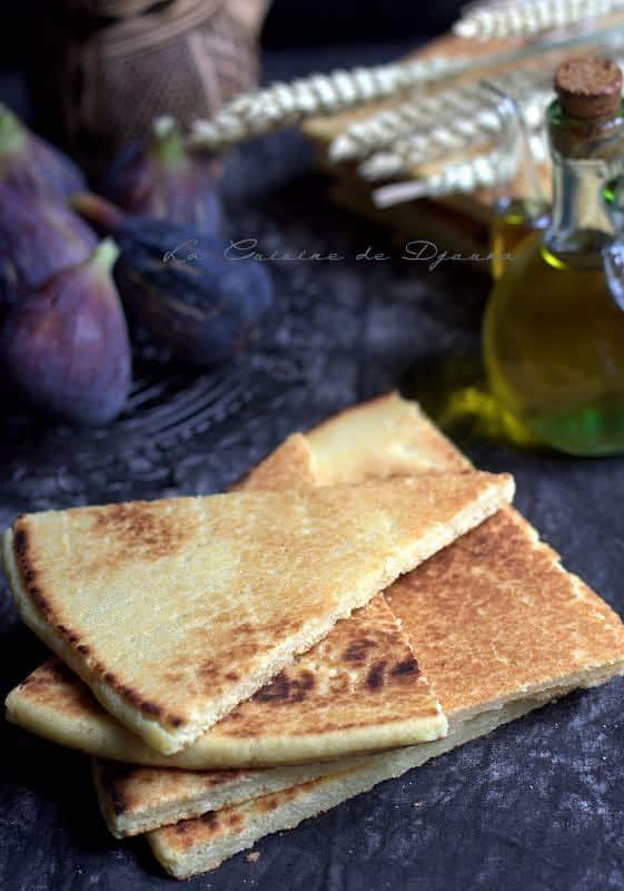 Recette kabyle de pain à l'huile d'olive
