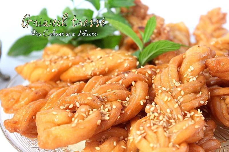 Recette griwech tresse recettes faciles recettes rapides de djouza - Recette de cuisine algerienne moderne ...