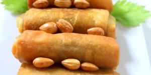 Brick a la viande hachee et amande (bourek)