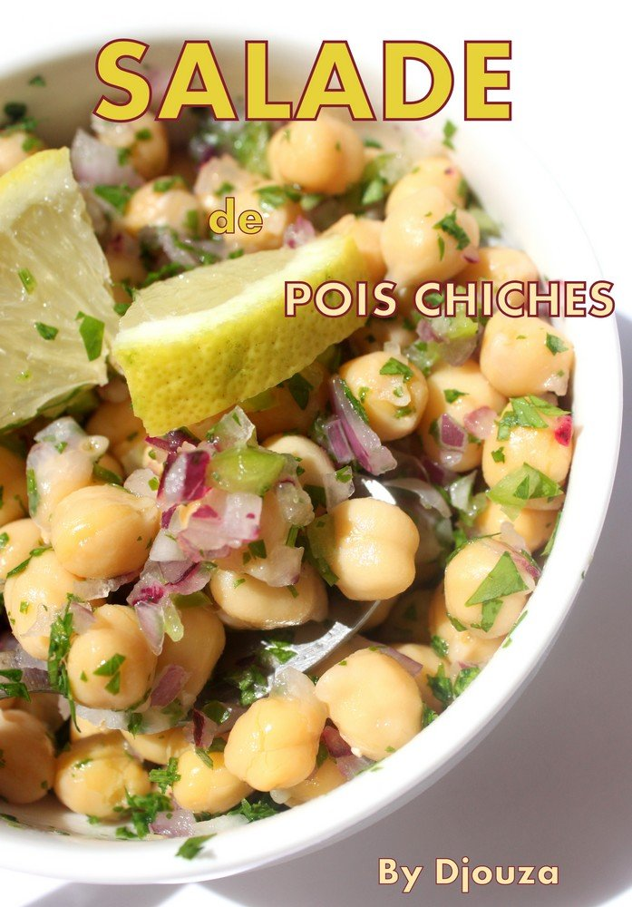 Salade froide de pois chiches a la libanaise